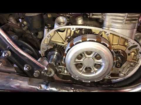 Yamaha XS650 kick start not rotating engine - Part 2