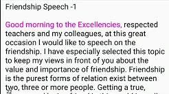 Public speaking script - YouTube