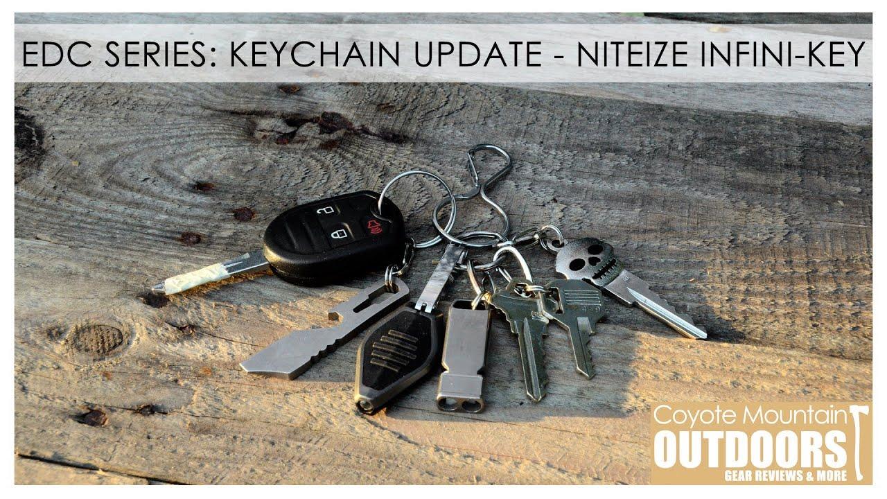 641259335d EDC Series: Keychain Update - Niteize Infini-key - YouTube