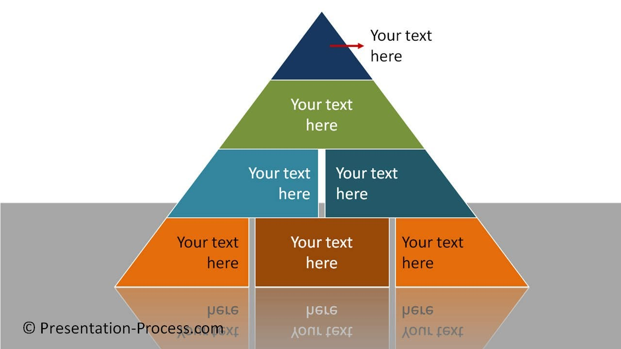 PowerPoint Segmented Pyramid : PowerPoint Diagram Series - YouTube