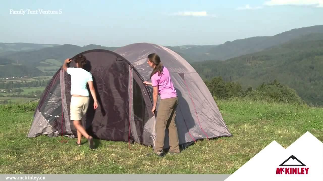 McKINLEY Family Dome Tent Ventura & McKINLEY Family Dome Tent Ventura - YouTube