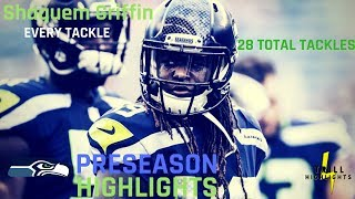Every Shaquem Griffin Tackle | 28 Tackles Preseason 2018