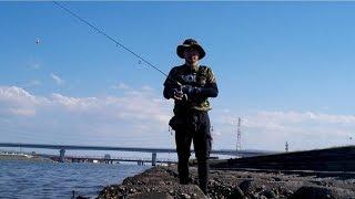 ハゼクラ来たー!!チェストマウント投入、江戸川放水路の秋満喫です