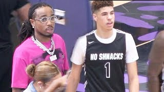LaMelo Ball INSANE SHOT Sends Game Into OVERTIME In Front of Quavo!!