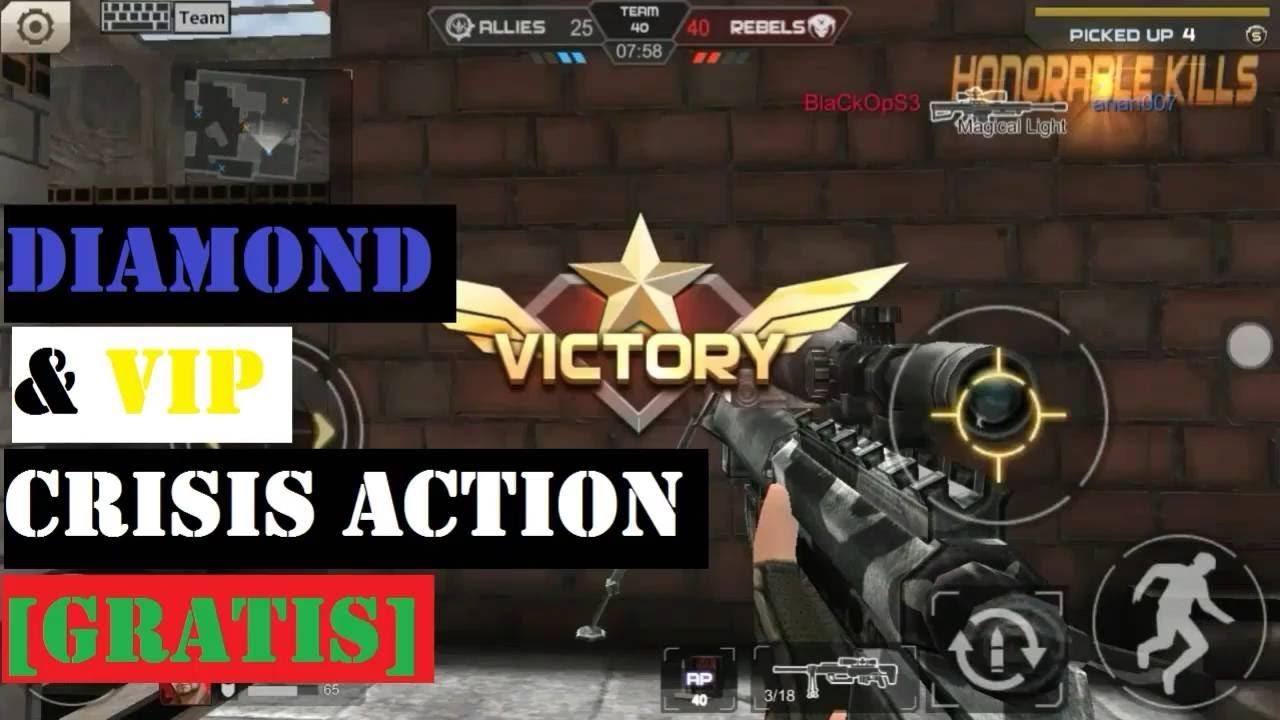 Cara Mendapatkan Diamond dan VIP Crisis Action [GRATIS] - YouTube
