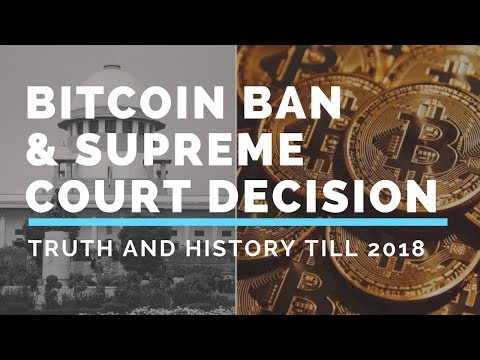 BITCOIN and SUPREME COURT HISTORY(TODAY)