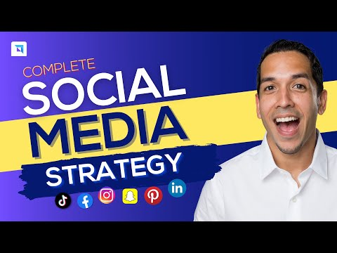 Social Media Strategy Template: A COMPLETE Guide
