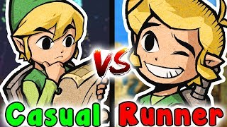 Casual VS Speedrun - STONE TOWER TEMPLE (Zelda Majora's Mask)