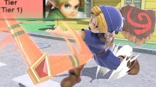 Young Link is Top Tier in Smash Ultimate!!
