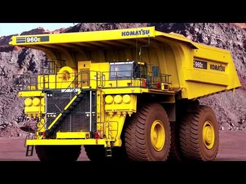 Самые большие карьерные самосвалы в мире ТОП 10 БелАЗ Caterpillar CAT Liebherr Terex Komatsu