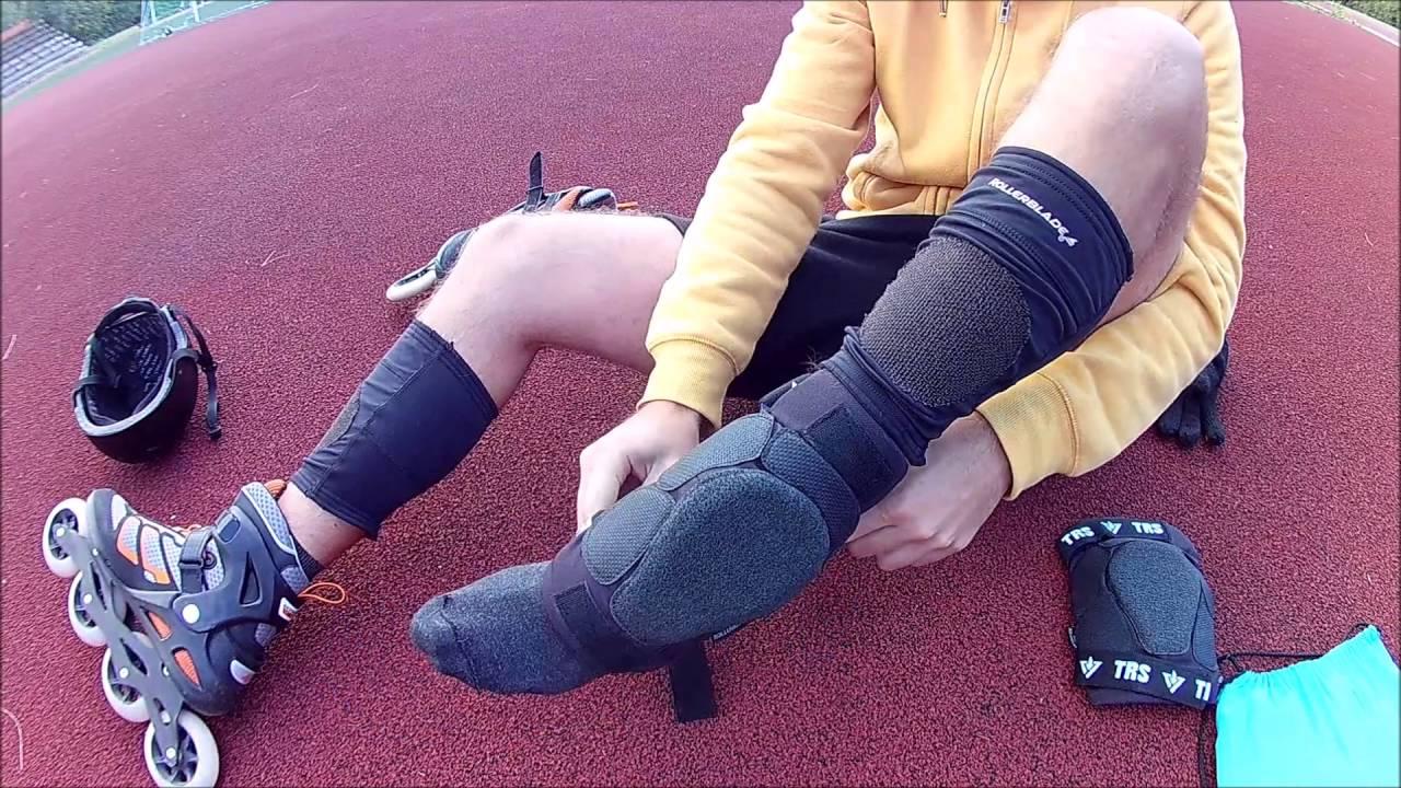 rollerblade knee pads & leg warmers review
