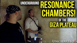 Ancient High Technology in the Resonance Chambers of the Giza Plateau!  (wear headphones!)