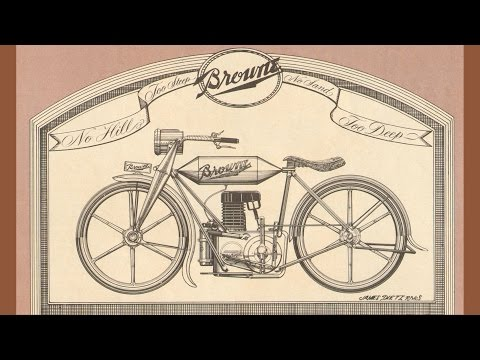 Antique Motorcycle: The Browne - Forgotten Classic