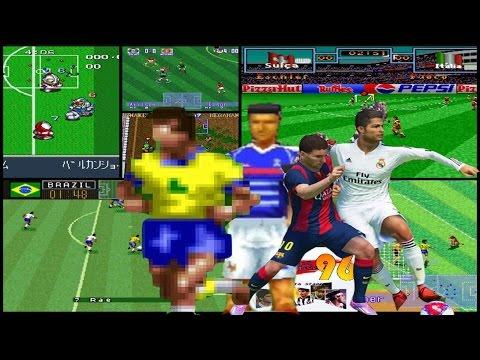 A História dos Jogos de Futebol nos Games [Canal Jogos Antigos]