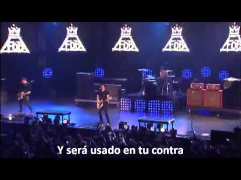 Just One Yesterday- Fall out boy [Subtitulada al español]