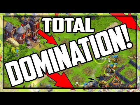 TOTAL DOMINATION! 100% Resource Boost in DomiNations!
