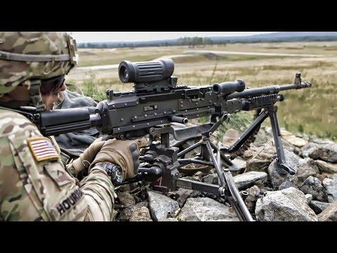 173rd Airborne Soldiers • M240G Machine Gun Live-Fire