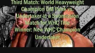 WWE Breaking Point 2009 Predictions [HQ]