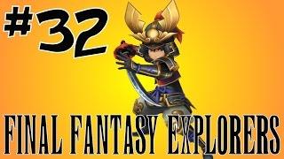 [32] Mastering Samurai! (Final Fantasy Explorers Multiplayer)
