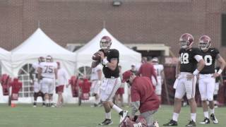 Jake Coker returns from injury - August 19th, 2015