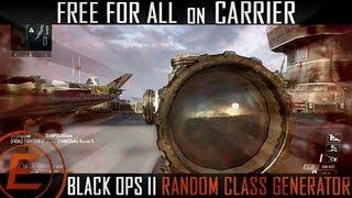 Black Ops 2: Random Class Generator - #1 LIVE (XPR-50 & Crossbow)