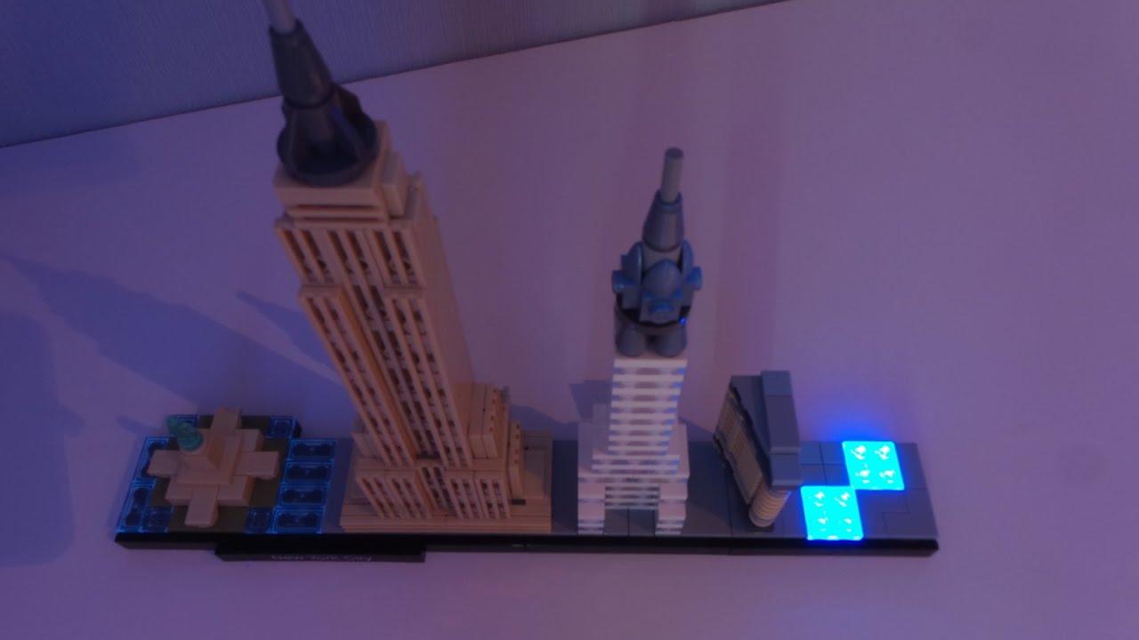 Lego 21028 architecture new york city skyline stop motion for Lego architecture new york