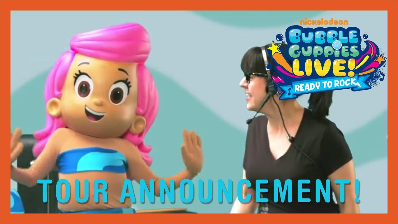 tour announcement bubble guppies live 2015 youtube