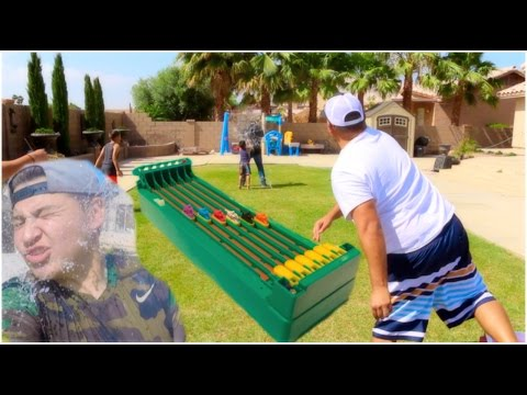 DESKTOP HORSE RACE GAME And WATER BALLOON FIGHT! (Derby Classic)