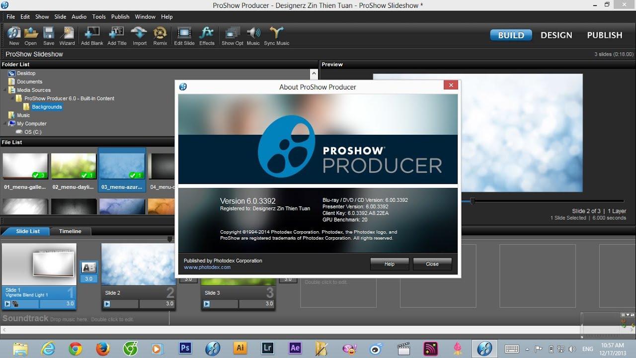 Hướng dẫn cài đặt và crack Proshow Producer 6.0