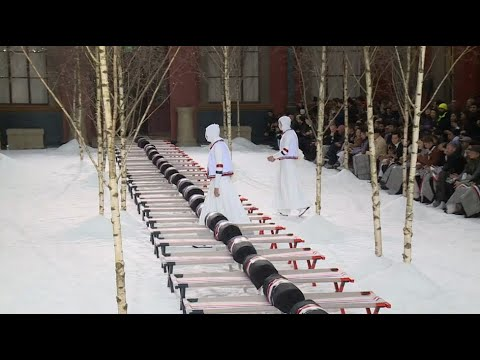 Thom Browne : Men's show Autumn/winter 2018/19 (with interview)