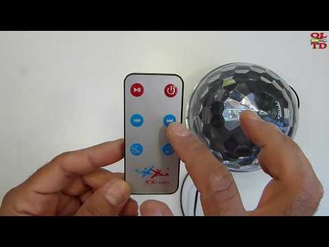 MP3 LED Magic Ball Light, quick look and repair