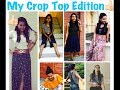 6 Ways to wear crop top...!!! Stay beautiful and stylish always🤗