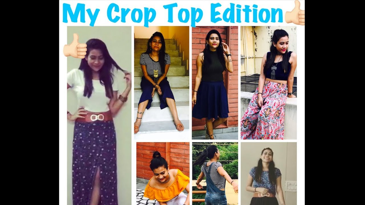 f7889fca3bcd 6 Ways to wear crop top...!!! Stay beautiful and stylish always ...