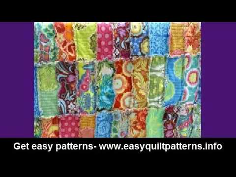 rag quilting made easy basic quilt diy - YouTube : rag quilting made easy - Adamdwight.com