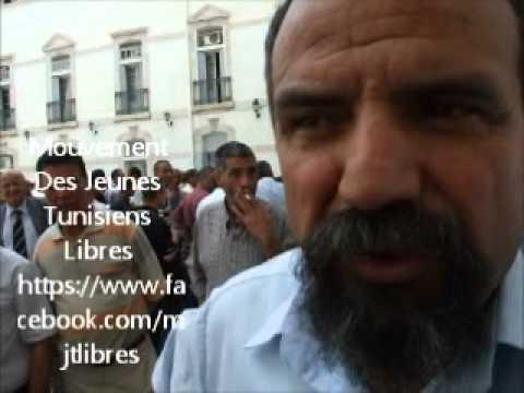 sit-in  tunisie telecom 09/06/2011..