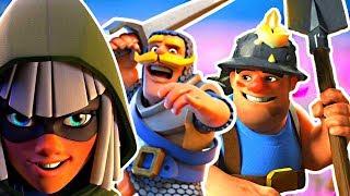 HARD TO PLAY New Meta Deck! - Clash Royale