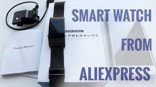 Smart - часы с AliExpress , распаковка, обзор. умные часы с Али