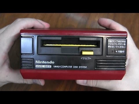 CGRundertow FAMICOM DISK SYSTEM Video Game Hardware Review