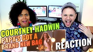 Courtney Hadwin - Papa's Got A Brand New Bag | America's Got Talent 2018 | REACTION