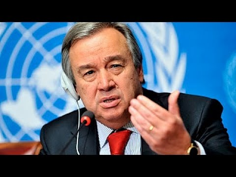 """Let us make 2017 a year for peace"" - UN Secretary-General António Guterres"