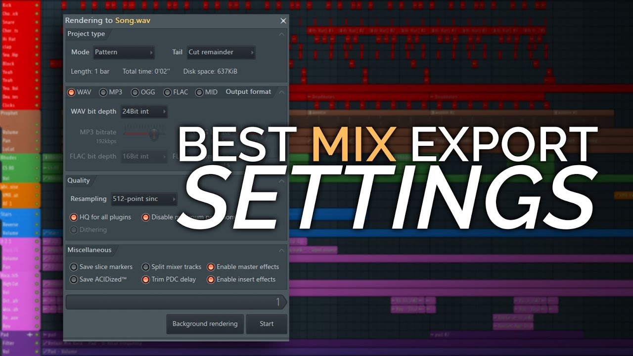 Best Export Settings Why Does My Mix Sound Bad After Exporting
