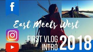 First Vlog Intro 2018 |Jeroen & Kyn💙 ❤️ 💻 | EAST MEETS WEST | Filipino Dutch Couple