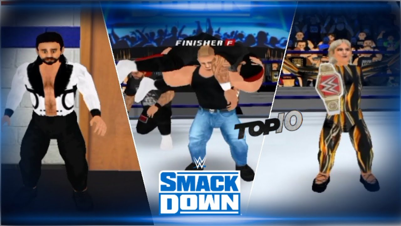 Download Wr3d 2k21-Smackdown live (draft day 1) top 10 moments