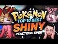 top 10 best shiny pokemon reactions ever best pokemon shiny reactions w adrive pokemon sun moon