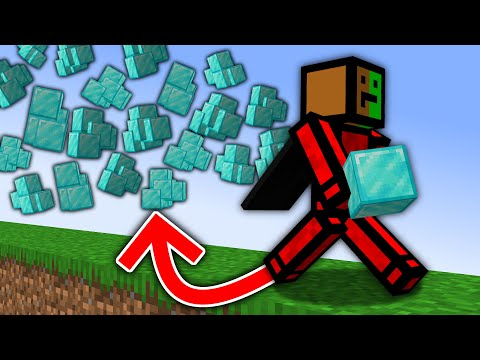 Minecraft, But Items Multiply Every Time You Walk...