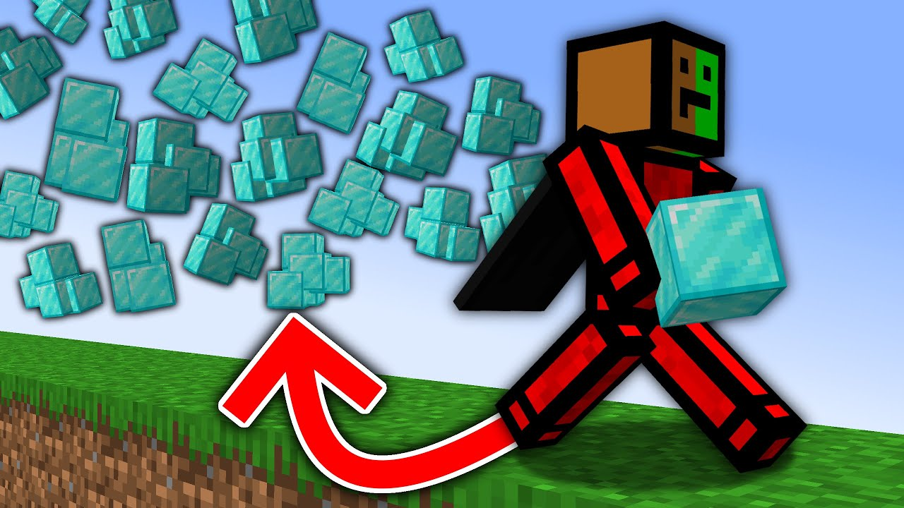 Download Minecraft, But Items Multiply Every Time You Walk...