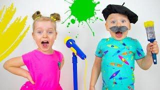 Alex y Gaby Elige una nueva profesión para niños