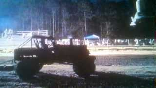"Lil Davie 5.29 sec B-Mod 38"" class Jump & Run Hill n Hole Mud Bog 9-1-12 Robbie Hudson"