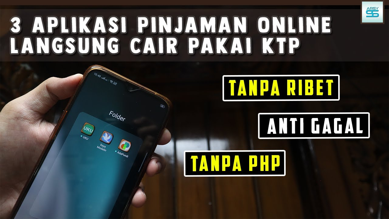 3 Aplikasi Pinjaman Online Langsung Cair Hanya Pakai Ktp Tanpa