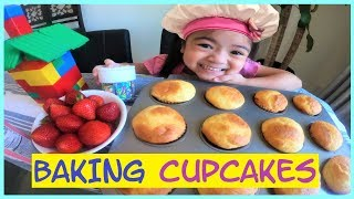BAKING CUPCAKES WITH SKY